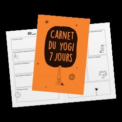 Carnet du yogi 7 jours
