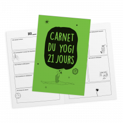 Carnet du yogi 21 jours