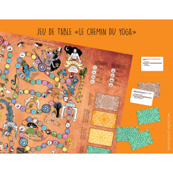 "Board game ""Le Chemin du Yoga"""