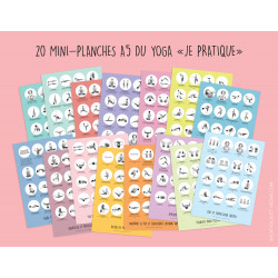 20 Mini Yoga Posters Full Pack