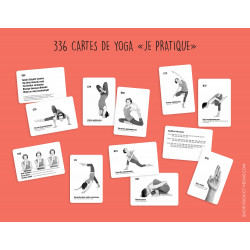 336 Cartes de yoga Je pratique
