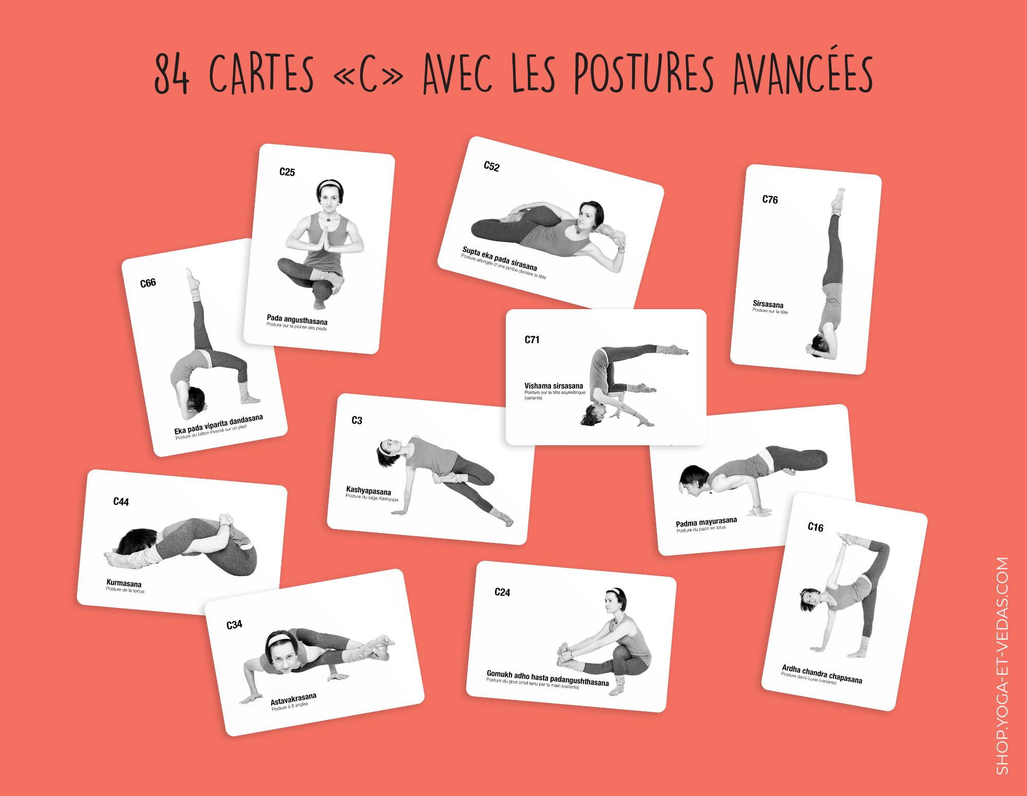 336 yoga cards - Cards C - Shop Yoga&Vedas