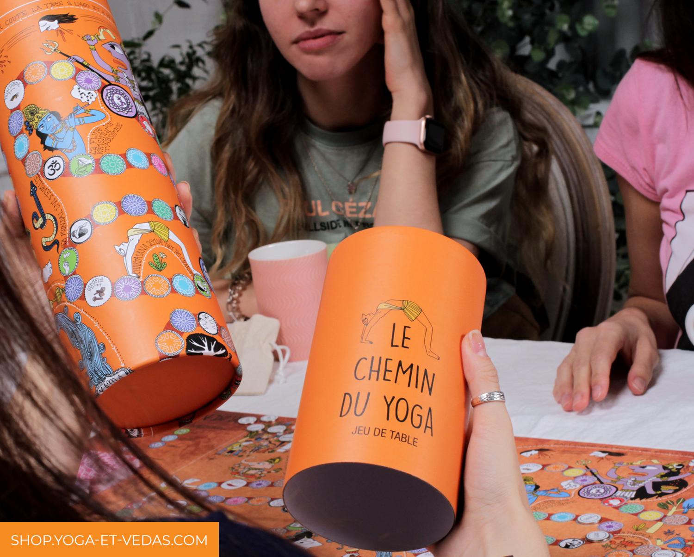 Boite Chemin du Yoga - Shop Yoga&Vedas
