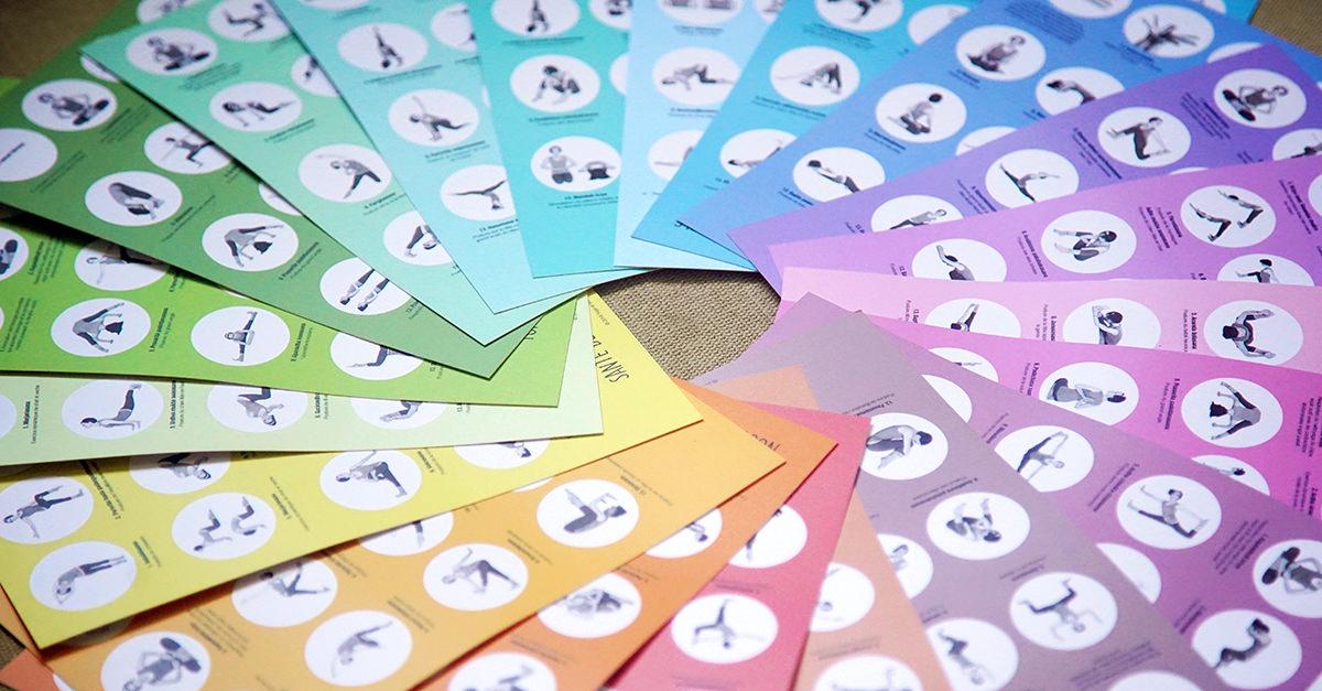 20 mini-planches séquences de yoga - Intégral - Shop Yoga&Vedas