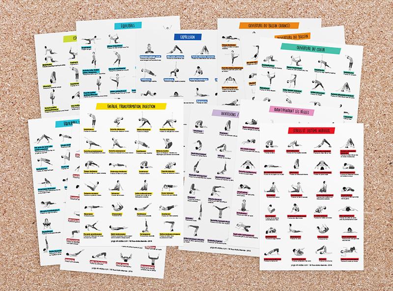 12 Planches De Postures De Yoga